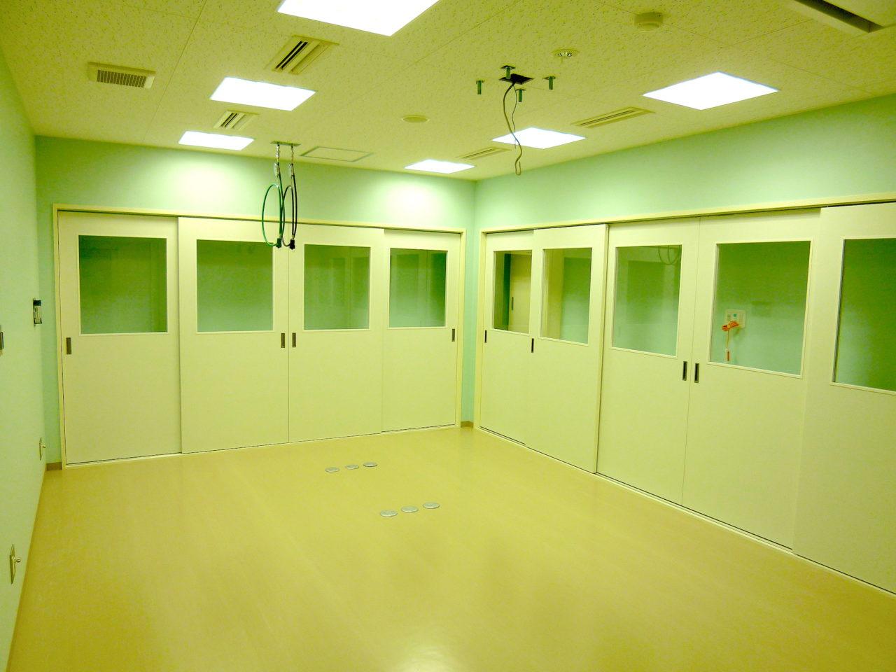 手術室の収納